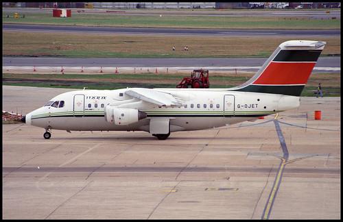 G-OJET - London Heathrow (LHR) 26.07.1993