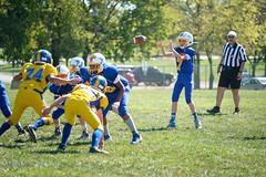 Walkersville tops Mount Airy! (Brian Isemann) Tags: walkersville lions fujixt2 fuji 50140mm football heritagepark jv d2