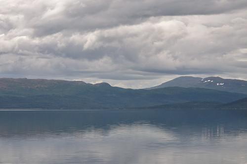 View over Stora Blåsjön
