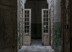 Abandoned psychiatric hospital - Manicomio de Quarto