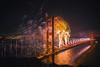 75th Birthday Golden Gate Bridge (Thomas Hawk) Tags: 75thbirthdaygoldengatebridge america batteryspencer california goldengatebridge marin marinheadlands sanfrancisco usa unitedstates unitedstatesofamerica bridge fireworks millvalley us fav10 fav25 fav50 fav100