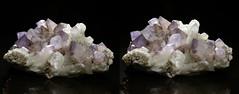 Quartz variety Amethyst  Stereo View (Stan Celestian) Tags: quartz amethyst scepter quartzscepters amethystscepters