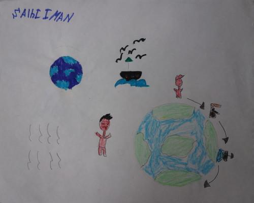 """dessin """"l'oiseau et l'enfant"""" (12)"""