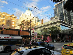 IMG_4201 Robson and Burrard Street (vancouverbyte) Tags: vancouver vancouverbc vancouvercity