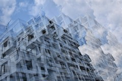 Cube life (naromeel) Tags: toronto canada multipleexposure doubleexposure architecture design building structure