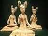 Three seated musicians Tang dynasty China 700-750 CE Earthenware (mharrsch) Tags: asianartmuseum sanfrancisco california mharrsch tangdynasty china musician female woman women sculpture statue 8thcenturyce
