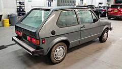 VW Rabbit LS (Dave* Seven One) Tags: vw volkswagen mk1 rabbit rabbitls 17l fuelinjected gas gasengine watercooled classic vintage 1983 1980s