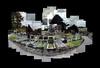 Church (Rock) Cemetery, Nottingham (ldjldj) Tags: nottingham nottinghamshire cemetery graves hockney david panograph joiner