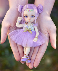 ☆ My Little Fairy ☆ (Shimiro Kestrel) Tags: bjd doll pukifee fairyland pukifeeante cute tiny kawaii pastel fairy photography bjdphotography bjdportrait bjdcustom dollphotography toyphotography pastelgirl pastelfashion