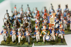 Boys Own Waterloo (Miss Fortunate) Tags: tabletopgaming modelsoldiers historicalreenactment