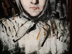 CEZANNE,1866-67 - Portrait de Marie Cézanne, Sœur de l'Artiste (Saint Louis) - Detail 21 (L'art au présent) Tags: art painter peintre details détail détails detalles painting paintings peinture peintures 19th 19e peinture19e 19thcenturypaintings 19thcentury frenchpaintings peinturefrançaise frenchpainters peintresfrançais tableaux paulcézanne paulcezanne cezanne cézanne famille figures personnes people pose model portraits face faces visage family sister foulard scarf femme women woman female jeunefemme youngwoman fille girl girls jeunefille younggirl