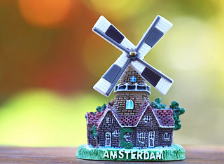 Souvenir from the Land of Windmills
