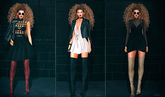forget the rules if you like it wear it (BerryGotStyle) Tags: enchante kr ad bento boots catwa choker cosmopolitan deetalez euphoric eyes glasses jacket look mesh ovh secondlife emery