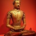 The Buddha Amitayus, the Buddha of Infinite Life Qing dynasty reign of the Qianlong emperor 1736-1795 CE Lacquered and gilt wood