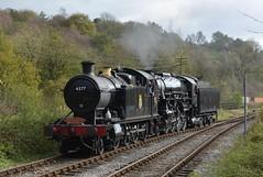 Churnet Valley Railway (1) (lewispix) Tags: gwr 280t 4277 steam railway s160 5197