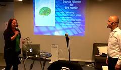 Hjärnan och Digitaliseringen med Mike Florette (GreatSpace Startup) Tags: hjärnan digitaliseringen brain digitalization unionen mellannorrland greatspace great space sundsvall mike florette smile le startup innovation hub accelerator coworking intellectual value