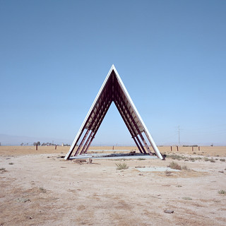 a-frame. mojave desert, ca. 2017.
