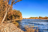 Bank View Of Fall Colors (http://fineartamerica.com/profiles/robert-bales.ht) Tags: fall forupload gemcounty haybales idaho people photo places projects riverorggstream scenic states toworkon whitewater clouds silkwater rapids emmett treasurevalley payetteriver river water scenicbiway blue reflection season colorful scenery foliage leaves beautiful spectacular riverphotography panoramic awesome magnificent peaceful surreal sublime inspiring canonshooter trees bank reflections robertbales yellow orange red greetingcards fallcolors autumn