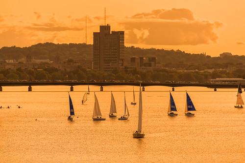 Charles River Sunset (Boston MA)