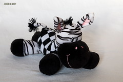"Zebra ""Fanny"" (joergpeterjunk) Tags: leipzig fotoexperiment makro macro indoor stofftier zebra fanny canoneos5dmarkiv canonef24105mmf4lisusm"