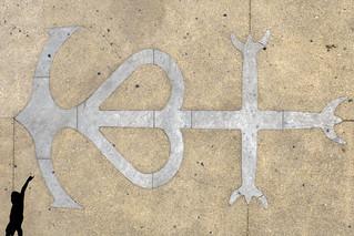 c'est la croix camarguaise..
