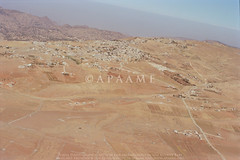 Al Qadisiyah; VNT? (APAAME) Tags: oblique scannedfromnegative aerialarchaeology aerialphotography middleeast airphoto archaeology ancienthistory tafilahgovernorate jordan