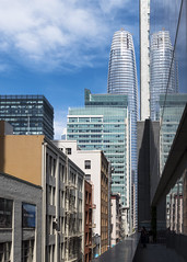 Minna Street (sirgious) Tags: sfmoma soma salesforcetower alley transbay architecture