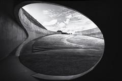 Oval (trommler13) Tags: fuji xt1 xf165528 fotografie architektur artfotografie rusty modernearchitektur lost lostplace
