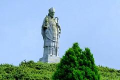 Slieve Patrick (ivlys) Tags: nordirland northernireland downpatrick slievepatrick statue grab grave ivlys