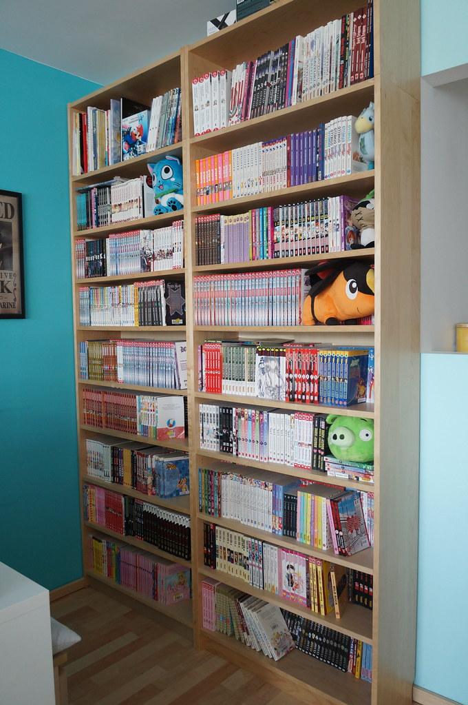 Elegant DSC05724 (Kirayuzu) Tags: Wohnzimmer Sammlung Regal Manga Mangaregal  Mangasammlung Shelf