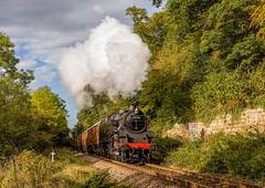 NYMR ''Autumn Steam Gala'' 29-9-2017 (KS Railway Gallery) Tags: nymr railway uk steam autumn gala beck hole
