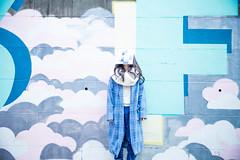 A Girl Takes Photos (Dick Thomas Johnson) Tags: japan tokyo shibuya harajuku 日本 東京 渋谷 原宿 スティーブン・パワーズ stephenpowers nowisforever グラフィティ graffiti highschoolgirl 女子高生 jk highschoolstudent 高校 高校生 highschool student ポートレート portrait photographer 写真家