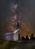 Mont-St-Joseph Chapel(Blend) (-> LorenzMao <-) Tags: httpwwwlorenzmaophotographycom montstjosephchapel montmegantic sanctuairedumontstjoseph notredamedesbois montmégantic quebeccanada quebec quebecchurch d750 astrophotography astro milkyway milkywaygalaxy church nightphotography star clearsky canada