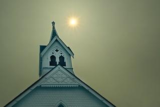 Smoky Silverton Church 6737 B