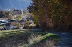 Fouillouse (RarOiseau) Tags: hautesalpes fouillouse automne village villageperché église