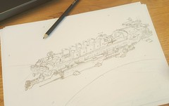 Tequila? (Brixnspace) Tags: tequila tequilatron lego doodle pencil ship shiptober