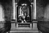 Quiet Contemplation (Dan Haug) Tags: stockholmroyalpalace stockholm gamlastan longexposure ponder contemplation monochrome blackandwhite noiretblanc fujifilm xt2 xf56mmf12r xf56mm sweden august 2017