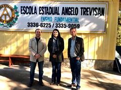 Visita - Escola Estadual Angelo Trevisan