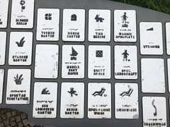 Britzer Garten: Wayfinding (mpieracci) Tags: britzergarten britzer garten garden berlin germany wayfinding integrative leitsystem icons iconography