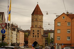 Augsburg, Jakobertor (clemensgilles) Tags: augsburg bayern deutschland germany stadt fuggerei city autumn herbst