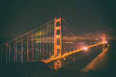 Her Grace and Beauty (Thomas Hawk) Tags: 75thbirthdaygoldengatebridge america batteryspencer california goldengatebridge marin marinheadlands sanfrancisco usa unitedstates unitedstatesofamerica bridge millvalley us fav10 fav25 fav50