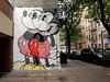Mickey (aestheticsofcrisis) Tags: street art urban intervention streetart urbanart guerillaart graffiti postgraffiti ny nyc new york newyorkcity us manhattan lowereastside jerkface