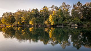 Autum at the River Aare