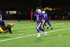IMG_5942 (JoeSeliske) Tags: gfess greater fort erie secondary school gryphons junior football an myer marauders nrhsaa championship final friday november3 2017 700 pm under lights evening away loss 2013 artificial turf niagarafalls ontario rcbhs blue devils