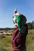 _MG_8994 (amanda_sd_lee) Tags: child point joy fall cottage beach happy toddler boy up look