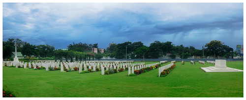 A place in memory of soldiers (Madras War Cemetery)