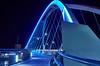 Lowry Avenue Bridge (AZSunsets) Tags: lowry bridge arch blue curves steel