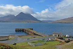 Eilean Ratharsair.. (Harleynik Rides Again.) Tags: isleofraasay pier jetty isleofskye loch scotland highlands abandoned harleynikridesagain nikondf