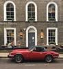 Close to automotive perfection ❤️ (juliavhill) Tags: redtriumphspitfire spitfire redsportscar redcar sportscar triumphspitfire triumph