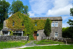 """I wonder if this property is called """"Ivy house """" Settle , Yorkshire ! (I.T.P.) Tags: house ivy settle yorkshire"""